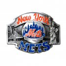 New York Mets Vintage 1988 Siskiyou Pewter Belt Buckle