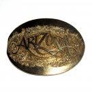 Arizona Award Design ADM Vintage Solid Brass Belt Buckle