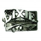Belt Buckle Vintage Dixie Bergamot Solid Pewter