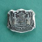 Royal Coat of Arms New Vintage Belt Buckle NOS