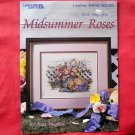 Vintage Leisure Arts Midsummer Roses Pattern