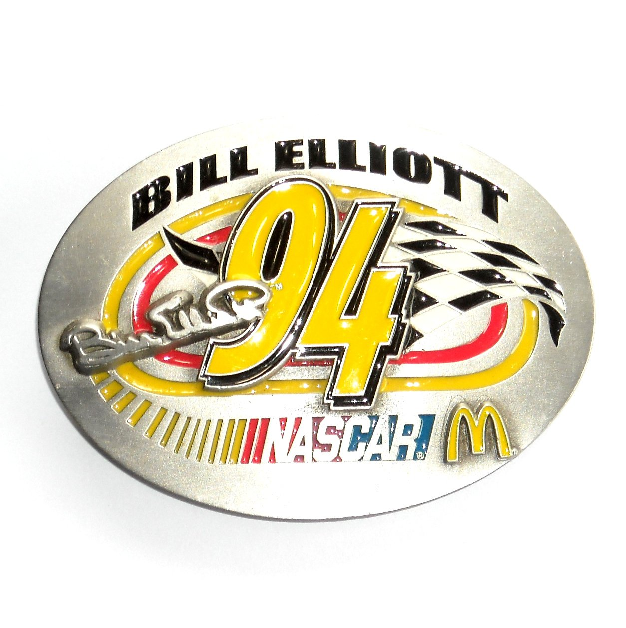Bill Elliott Nascar 94 Great American Limited Edition Belt Buckle
