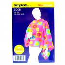 Misses Fleece Lounge Blanket Sew Simple One Size Simplicity Sewing Pattern 2008