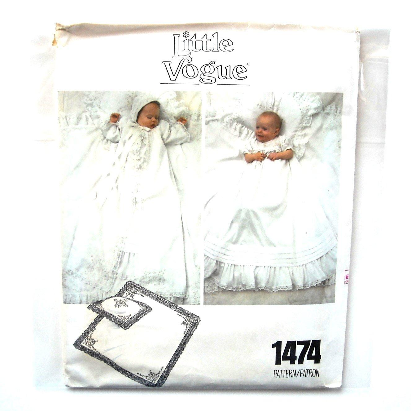 Vintage Little Vogue Sewing Pattern 1474