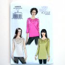 Misses Tops Vogue Very Easy Sewing Pattern V8669