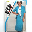Misses Slim Skirt Top Sash Jacket Simplicity ESP Sewing Pattern 5889