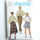 Womens Pants Culottes Vintage Simplicity Sewing Pattern 6699