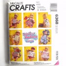 Water Babies Doll Clothes McCall's Sewing Pattern 6368