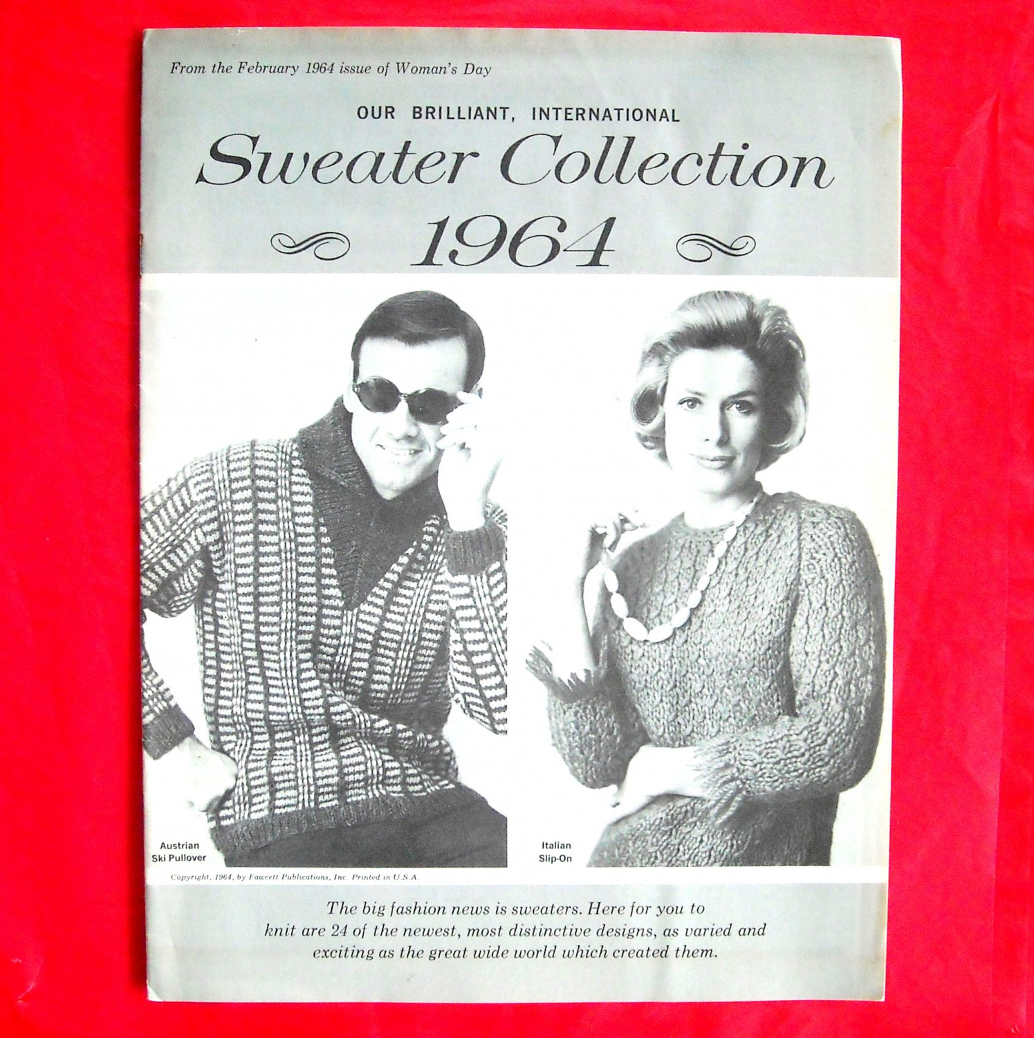 Vintage Sweater Collection Patterns 1964