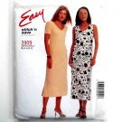 Dress Jumper 16 - 22 Easy McCalls Sewing Pattern 3909