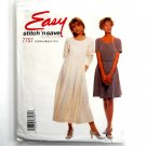Easy Dress in 2 lengths Size 8 - 14 McCalls Sewing Pattern 7757