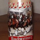 Budweiser Limited Edition stein embossed Clydesdales Horses