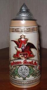 Budweiser limited edition stein Public House Tavern