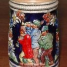 Stein embossed pipers in the old country Germany