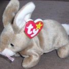 Nibbly the Rabbit RETIRED TY beanie baby