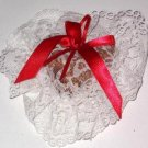 Victoria Secret Lace Heart Shape Sachet Vintage