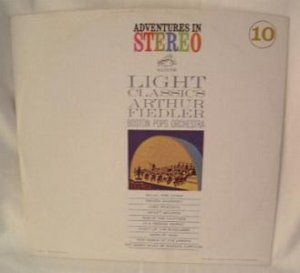 LIGHT CLASSICS ARTHUR FIEDLER BOSTON POPS #10