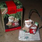 Hallmark Ornament Magic Light Beary Short Nap 1990