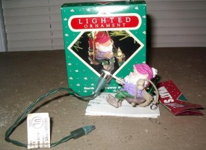 Hallmark Ornament North Pole Power & Light 1987