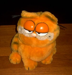 Vintage Garfield Fat Cat Plush 1981 Dakin Company