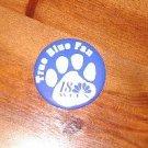 True Blue Fan  18 WLEX button pin