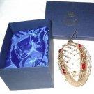 Sorelle Beaded Glass Egg Ornament