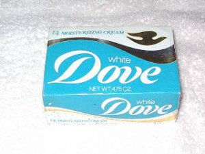 Dove Bar Soap Old packing Collectible