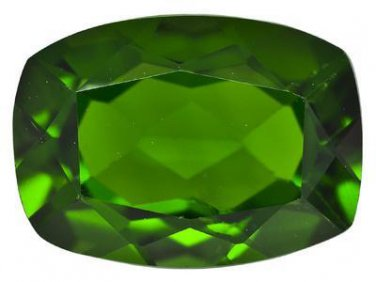 Russian Chrome Diopside .85ct 7x5mm Rectangular Cushion Jewelry Television JTV