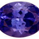 Tanzanite with minimum of 1.25ct 8x6mm Oval Jewelry Television JTV
