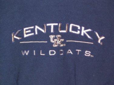 Kentucky Wildcats embroidered KENTUCKY sweatshirt style crewneck size M