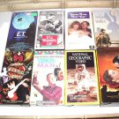 Lot of VHS tapes MOVIES, DOCUMENTARIES, Something for everyone!