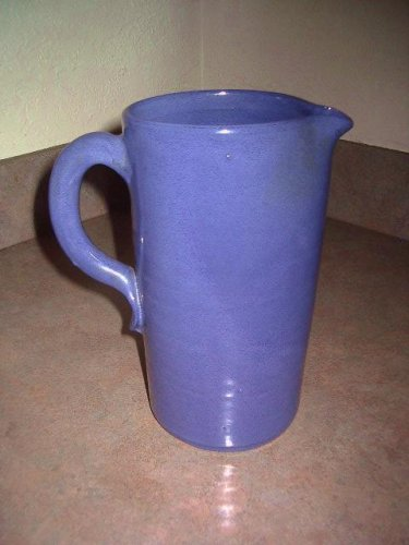 Bybee Pottery Blue Pitcher Kentucky