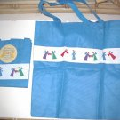 ANGELS Totes Reusable Bag Blue TWO
