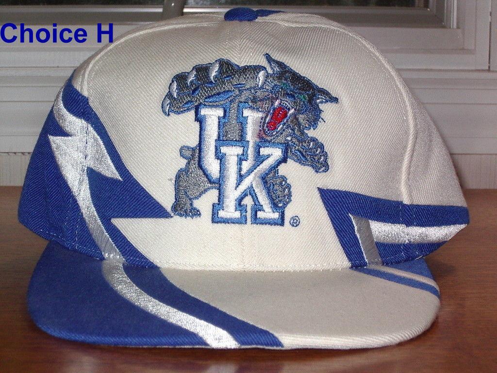 Kentucky Wildcats UK cat logo (original tongue)  Embroidered cap