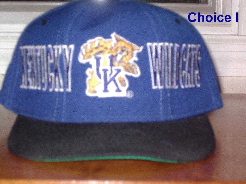 Kentucky Wildcats UK cat logo (original tongue)  from Starter Embroidered cap