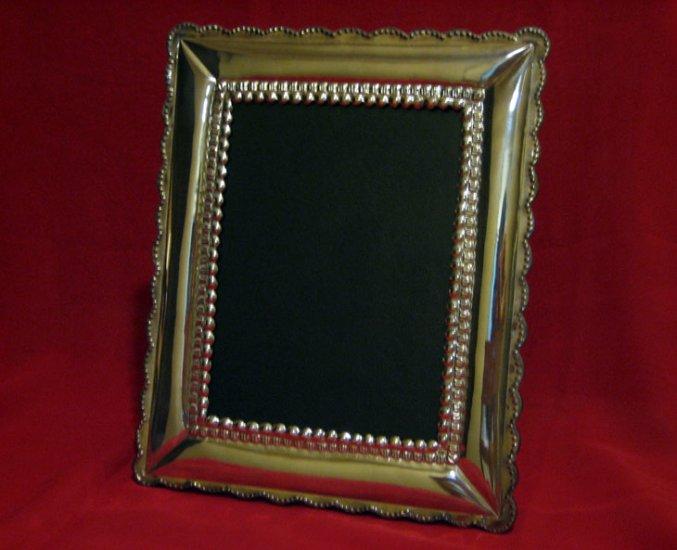 "Peruvian Silver Picture Frame 5""x7"""