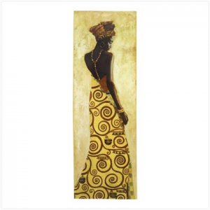 AFRICAN PRINCESS WALL DECOR  #39672
