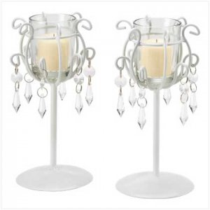 CRYSTAL DROP VOTIVE STANDS      39550