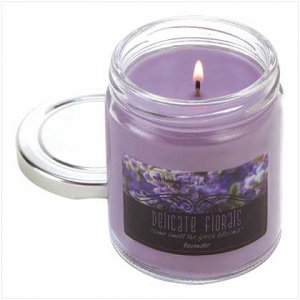 LAVENDER CANDLE     39574