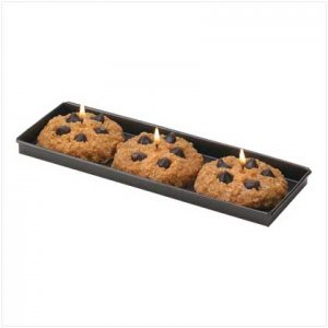 FRESH-BAKED COOKIE CANDLE SET  39778