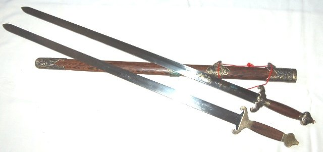 JIan Chinese double, Double edge swords (c404)