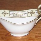 Antique Hand Painted Noritake Nippon Gold Encrusted Creamer Gravy Boat 1910-1911 Morimura Bros