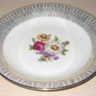 Bavaria Porcelain China Bowl Floral Bouquet Gold Guilding