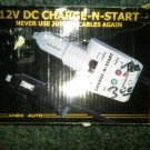 New Anex 12 vdc charge-n-start never use jumper cables again!! delivered $4.75