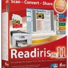 Readiris Pro 11 Convert paper documents and PDF files, # L1983-10006, delivered $19.00