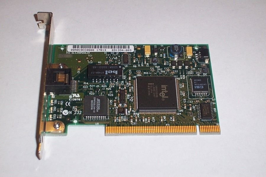 Intel Pro NIC E139761 PCI Network Card 691334-004 100Mbs delivered $9.00
