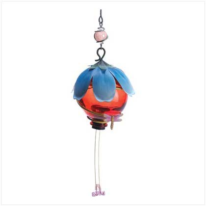 Ruby Flower Hummingbird Feeder