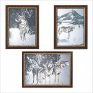 Winter Wolves Mirror Set