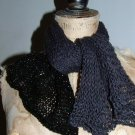 Gorgeous knitted SHAWL SCARF fabulous gift!