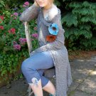 Stunning made to measure hand dyed cardigan